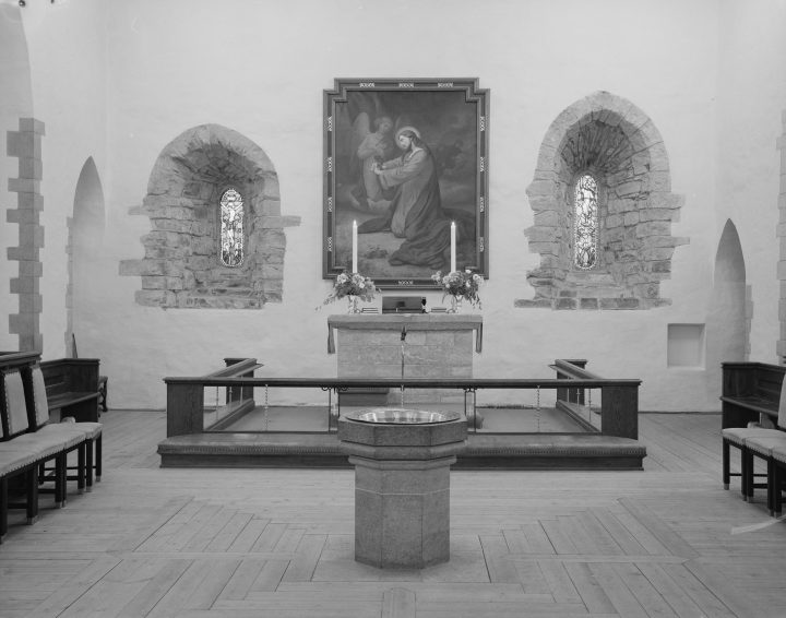 Interior of the chancel (photo Wikimedia Commons)