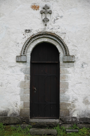 Portal in the north wall of the nave (photo Justin Kroesen)