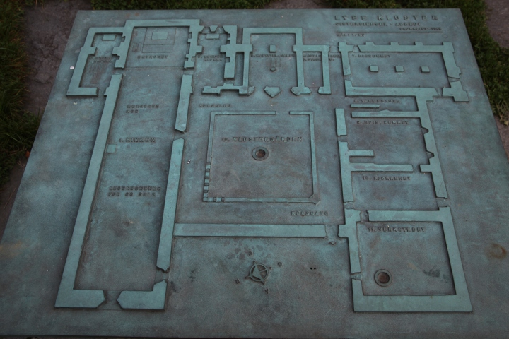 Ground plan of the monastery (photo Justin Kroesen)