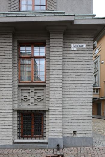 Tårnplassen street name (photo Justin Kroesen)