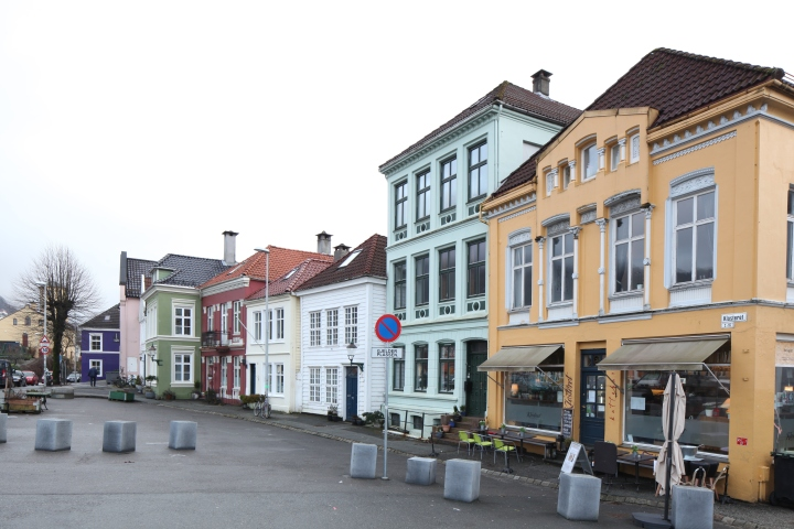 Klosteret square – the location of vanished Munkeliv Abbey (photo Justin Kroesen)